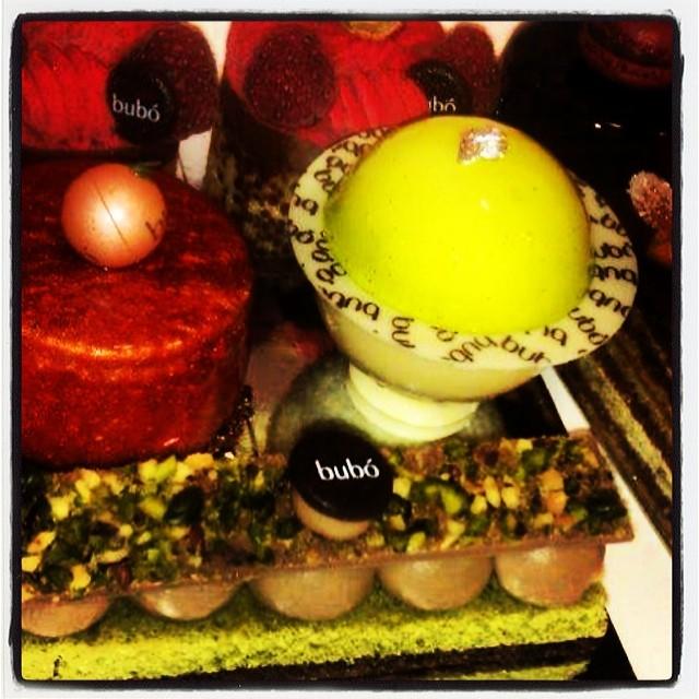 Dessertdisken på Bubo i Barcelona